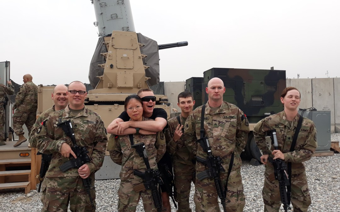 5-5 Air Defense Artillery Receives OSD Supply Drop