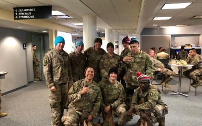 28th Military Police Company Deployed to Afghanistan Enjoying OSD Supply Drop