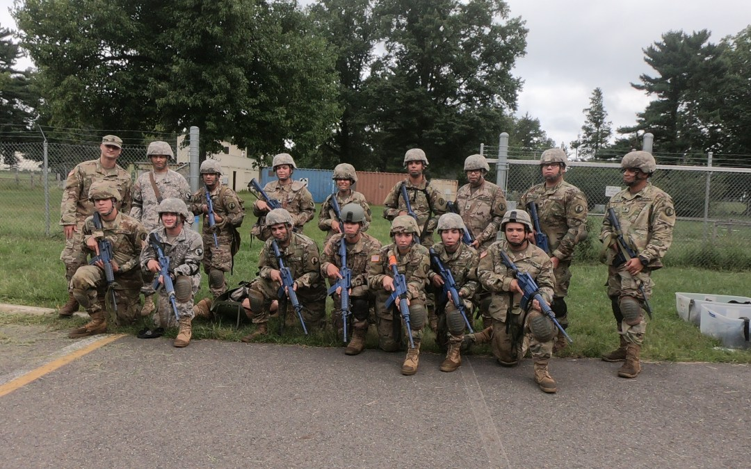 Soldiers of  311th Quartermaster Company Deployed from Puerto Rico Enjoying OSD Supply Drop
