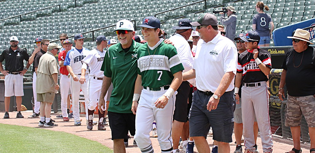 Prosper Grad Plays in All-Star Game
