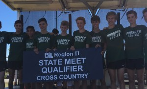 Prosper XC Boys Advance to State for First Time in School History