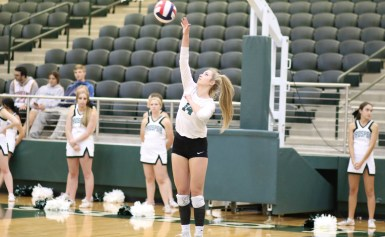 Lady Eagles Sweep at Home and on the Road