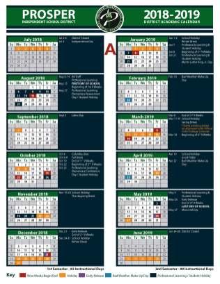 Calendar A