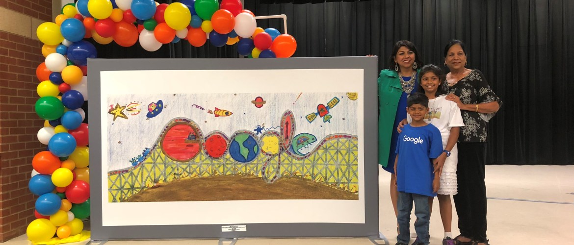 Sia Srivastava Makes Top 5 In Google Art Contest