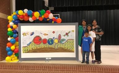 Sia Srivastava Makes Top 5 In Google Art Contest