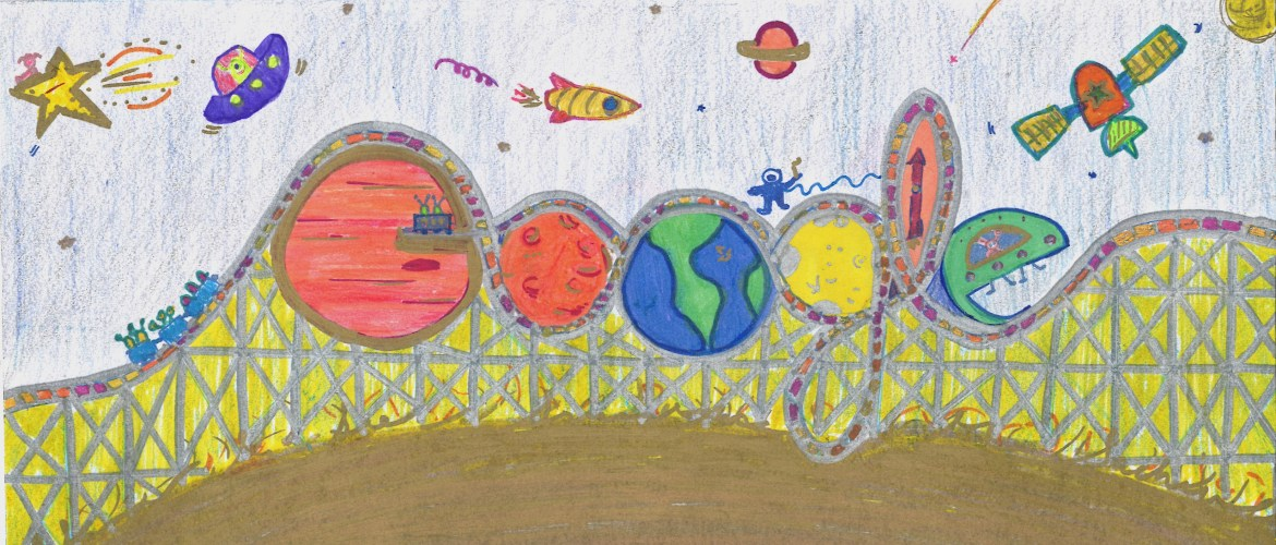 """Sia Srivastava of Folsom Elementary Advances in Google's """"Doodle for Google Competition"""""""