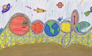 "Sia Srivastava of Folsom Elementary Advances in Google's ""Doodle for Google Competition"""