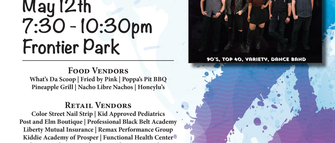 Music in the Park – SATURDAY, MAY 12!!