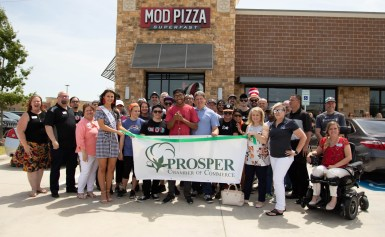Mod Pizza Opens in Prosper!
