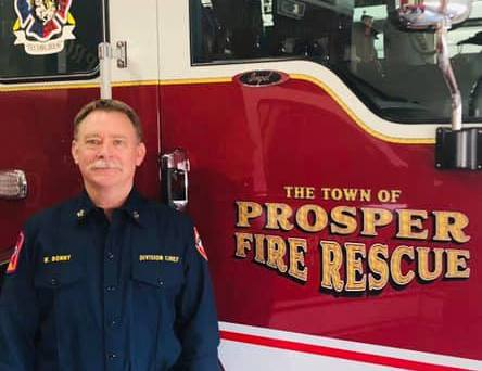 PROSPER FIRE RESCUE WELCOMES NEW DIVISION CHIEF