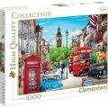 Concours Puzzle 2017 - Durbuy Barvaux - Clementoni -4-1000 pièces – Tanikawa - London, England