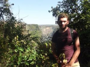 Oliver on ICS placement in Zambia last year.