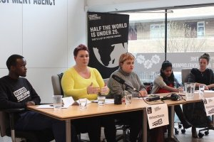Panelists at our Reframing the Vote event last week.