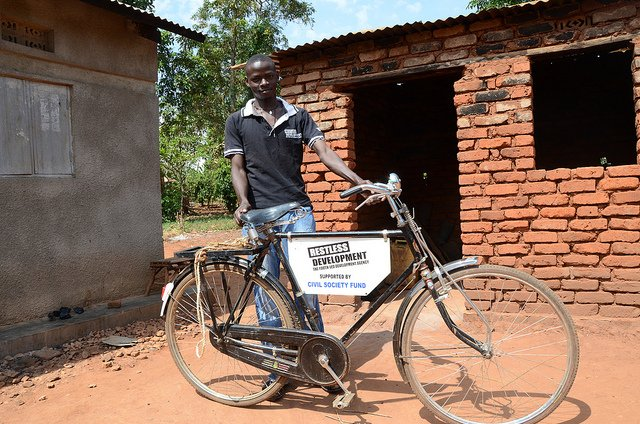 Uganda - Richard peer educator Mayuge