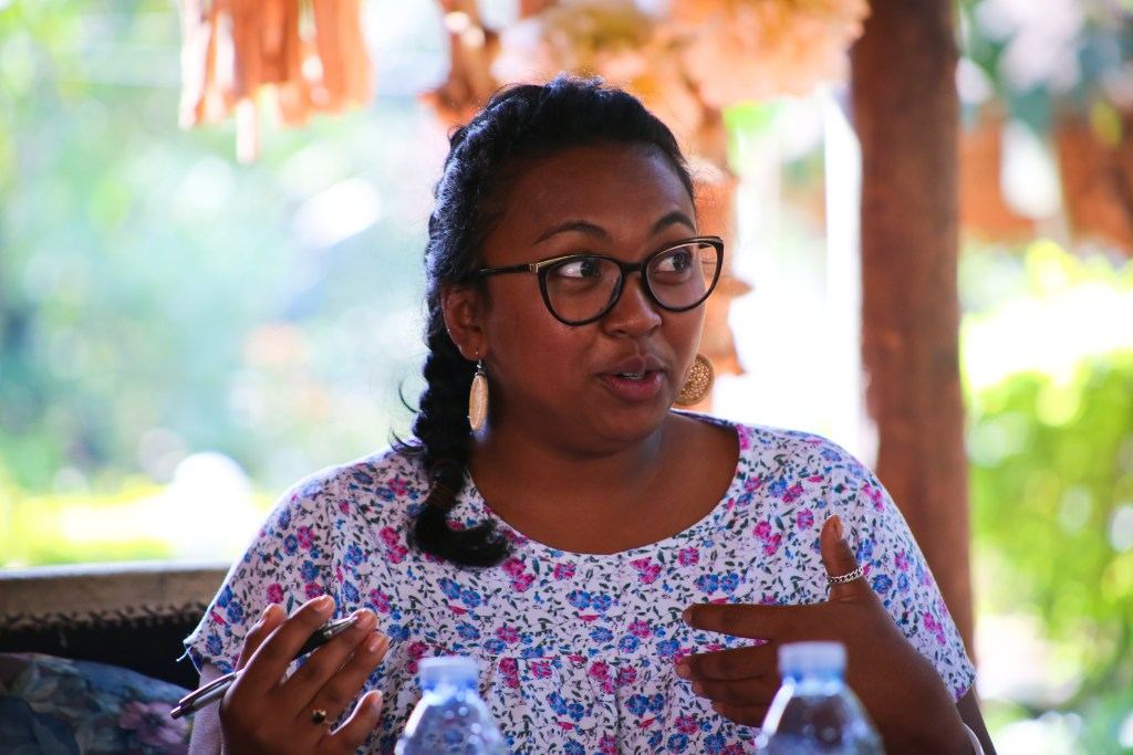 Mialy, youth led change researcher in Madagascar