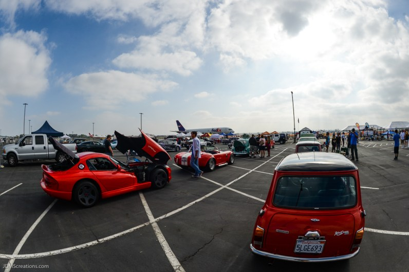 2017 LETR Special Olympics Southern California Plane Pull - Long Beach Airport - Aug. 19, 2017 - Classic Car Show