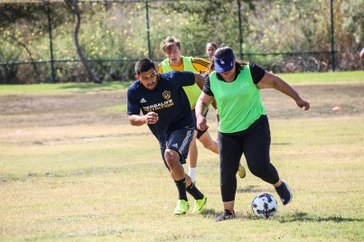 Special Olympics Southern California LA Galaxy Unified Team Practice with Herbalife Volunteers - Aug. 19, 2017