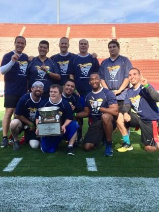 LETR flag football champions