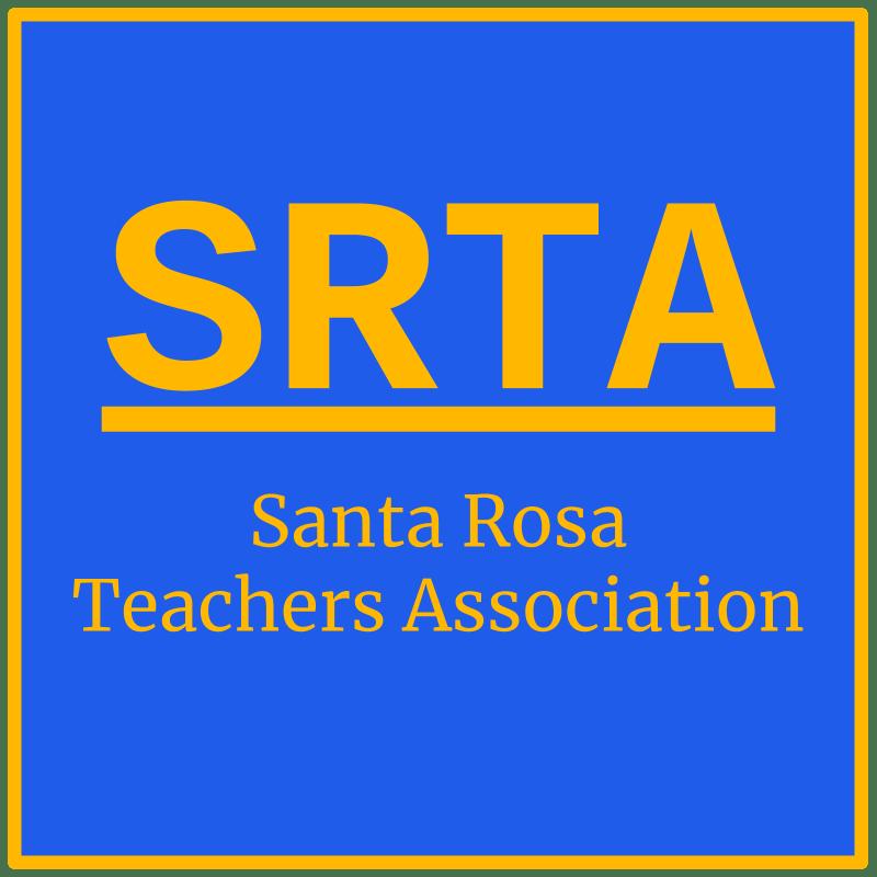 SRTA Santa Rosa Teachers Association (logo)