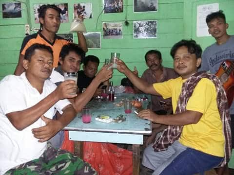 Drinking Tuak in North Sumatra
