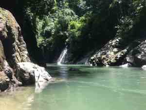 Tangkahan Sumatra Waterfall