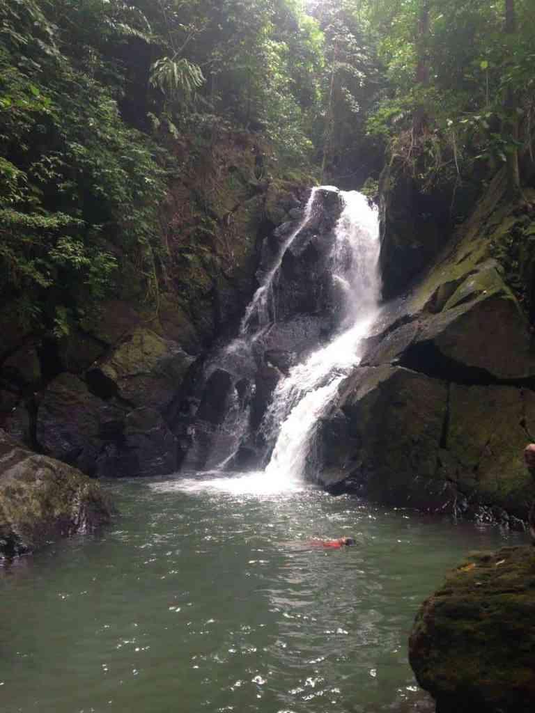 Pria Laot Waterfall in Pulau Weh