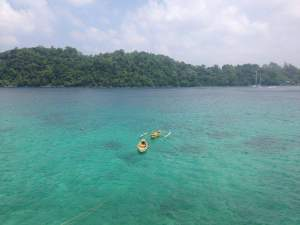 Snorkelling is one of the best things to do in Pulau Weh
