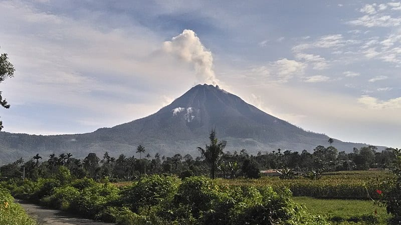 Mount Sinabung, North Sumatra