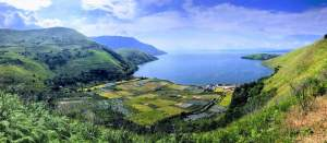 Lake Toba Panorama