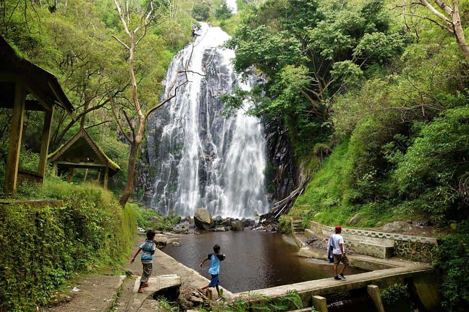 Efrata Waterfall Lake Toba