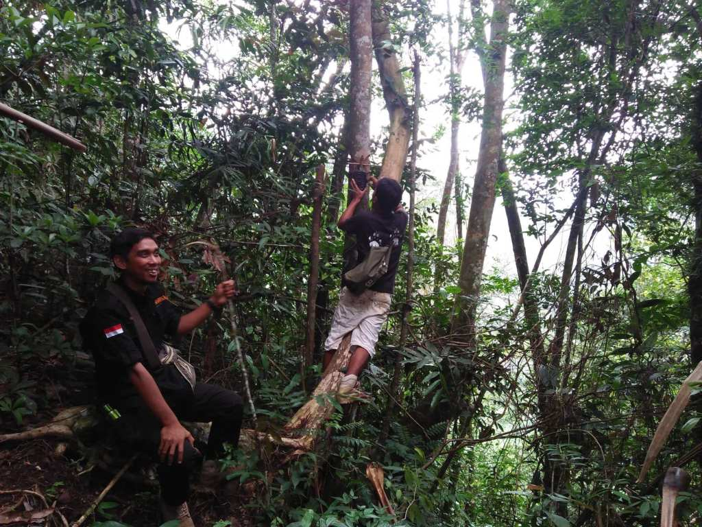 Jungle patrol Batu Katak
