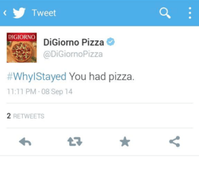 Th mistake of Digiorno Pizza why I stayed