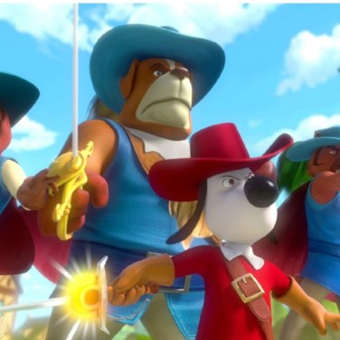 Dogtanian & The Three Muskahounds| Altitude | UK Theatrical publicity 2021
