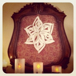 Family Art: Create a Snowflake Star