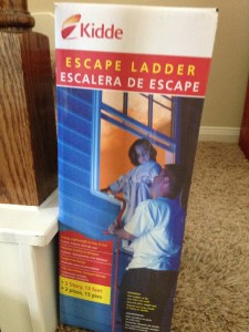 How I Ended Up Buying a Fire Escape Ladder