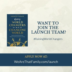 An Invitation to Raise World Changers
