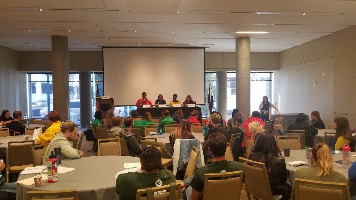 Panel Discussion at AmeriCorps Conference