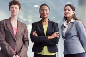 Three office women featured