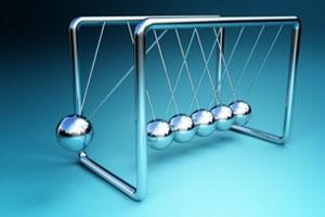 balls swinging
