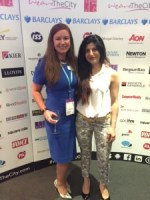 Caroline Graham and Vinita Ramtri at the Rising Star Shortlist Event