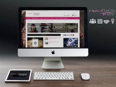 WATC-India - Screen shot of new website for women in India