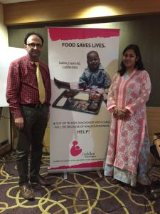 Dr Sameer Bakshi and Purnota Dutta Bahl , Cuddles Foundation