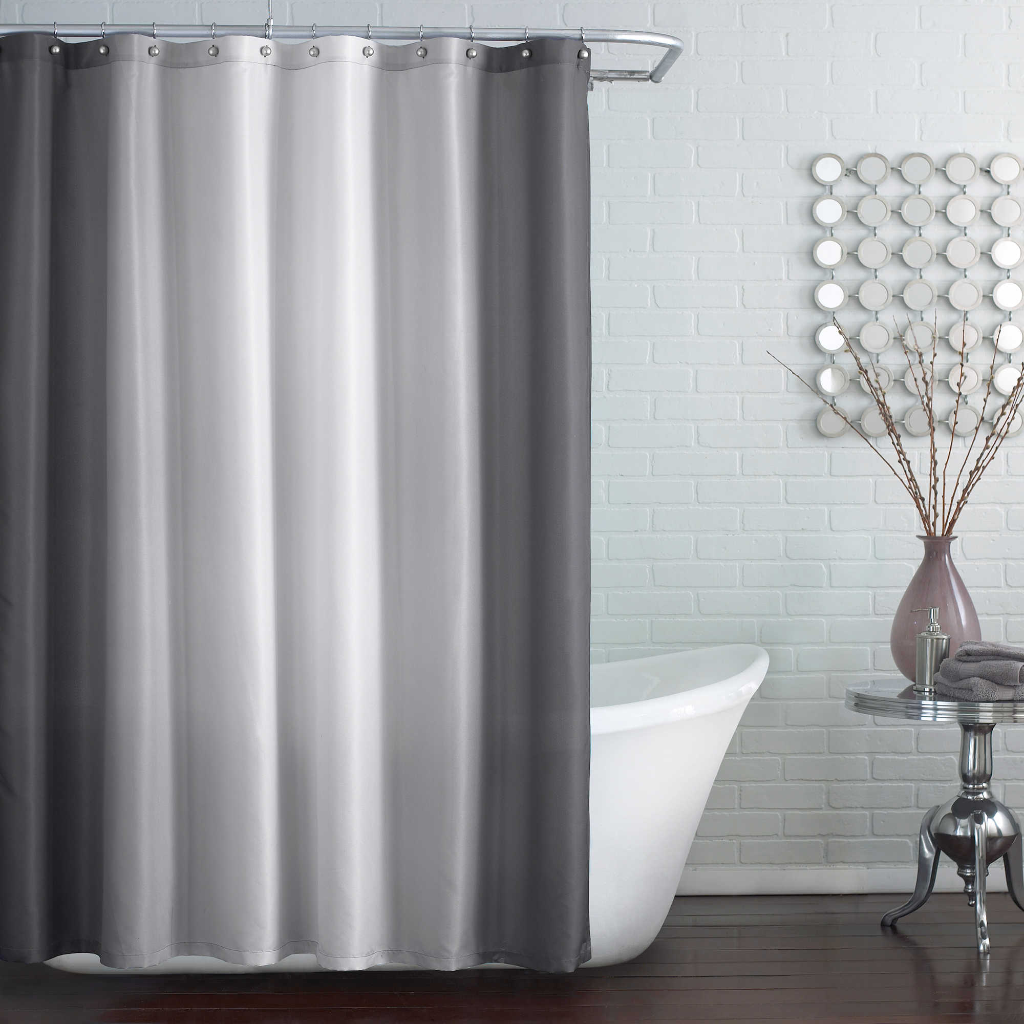 extra long white shower curtain liner