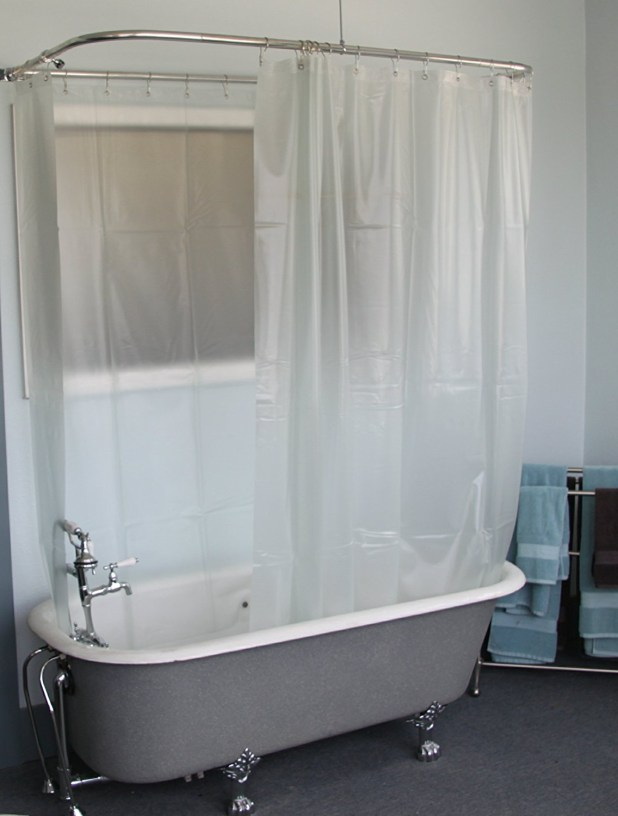curtains to luxury a considered item shower how make tub still rod clawfoot curtain is