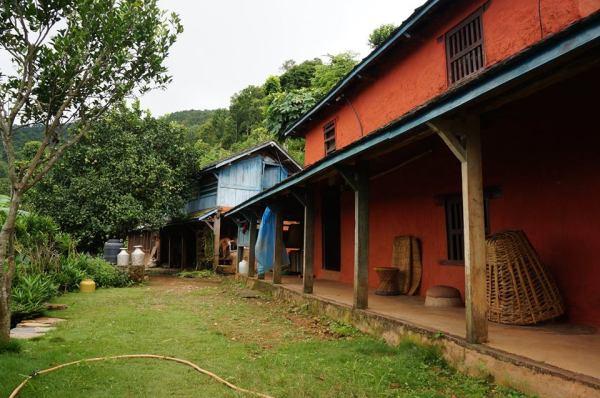 Nepalees huis in Dhading