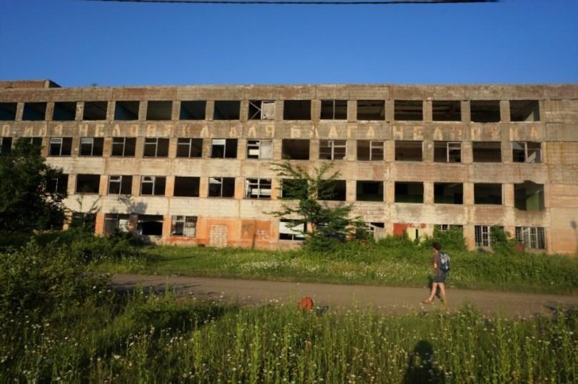 Urbexen Georgie gebouw