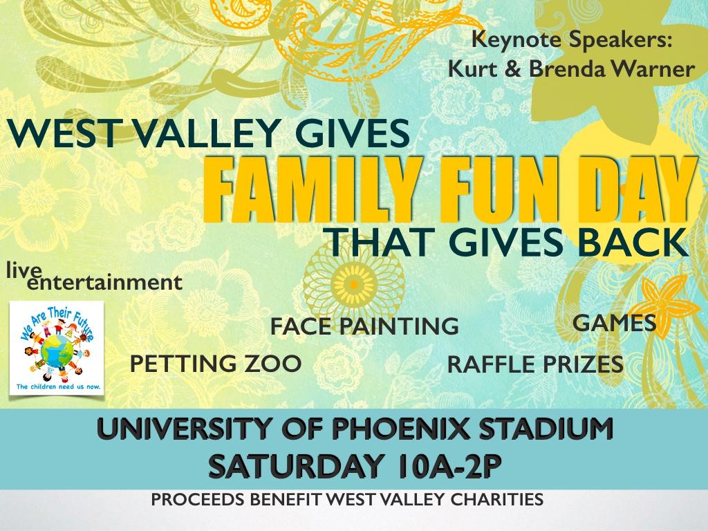 event to support non-profit organizations helping Arizona foster children
