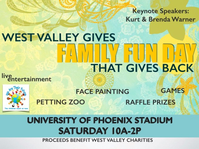 event to support non-profit organizations helping Arizona foster children