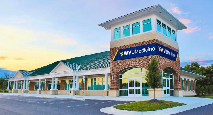 WVU Medicine building.