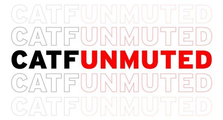 logo for contemporary american film festival unmuted event.